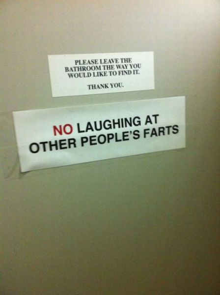 Bathroom Funny craziest collection of 50 #funny bathroom #signs you've ever seen