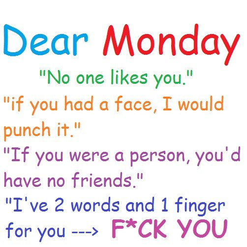 funny monday quotes